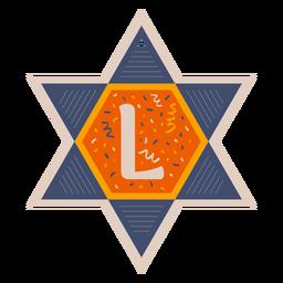 Estrella de david l banner