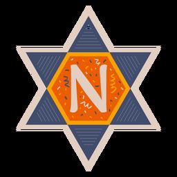 Star of david n banner