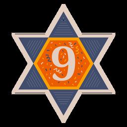 Estrella de david nueve banner
