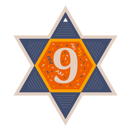 Star of david nine banner