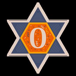 Star of david o banner