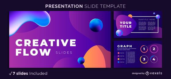 Creative Flow Presentation Template