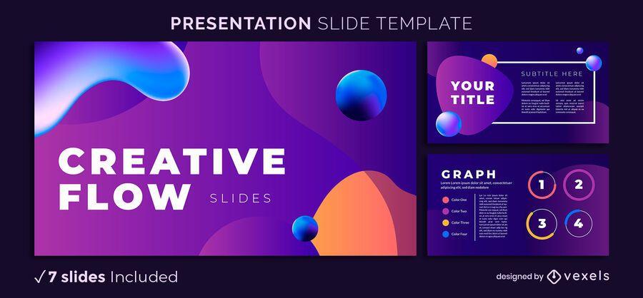 Creative Flow Presentation Template