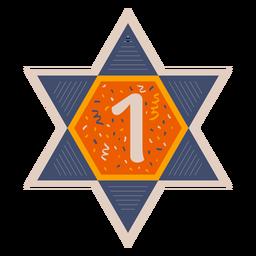 Estrella de david one banner