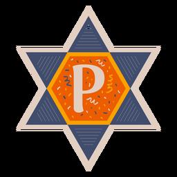 Star of david p banner