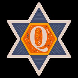 Star of david q banner