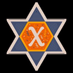 Star of david x banner