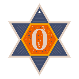 Banner estrella de david zero