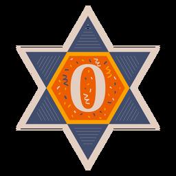 Star of david zero banner