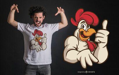 Gallo aprueba diseño de camiseta