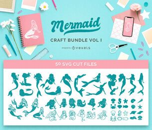 Mermaid Craft Bundle Vol1