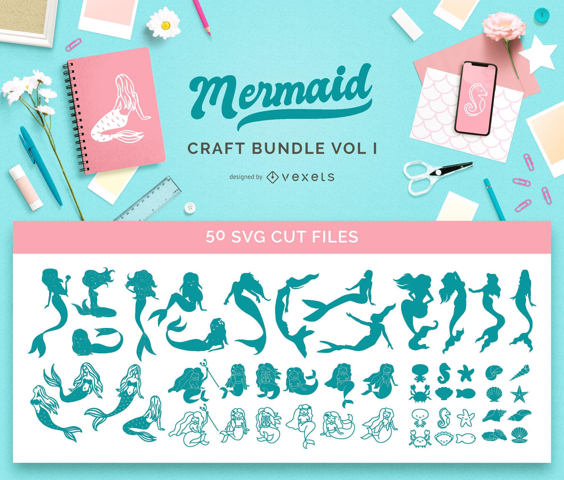 Mermaid Craft Bundle Vol1