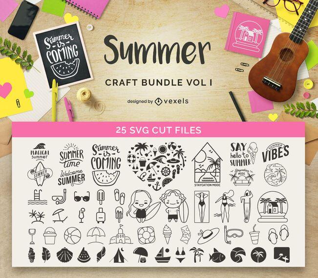 Paquete de manualidades de verano Vol1