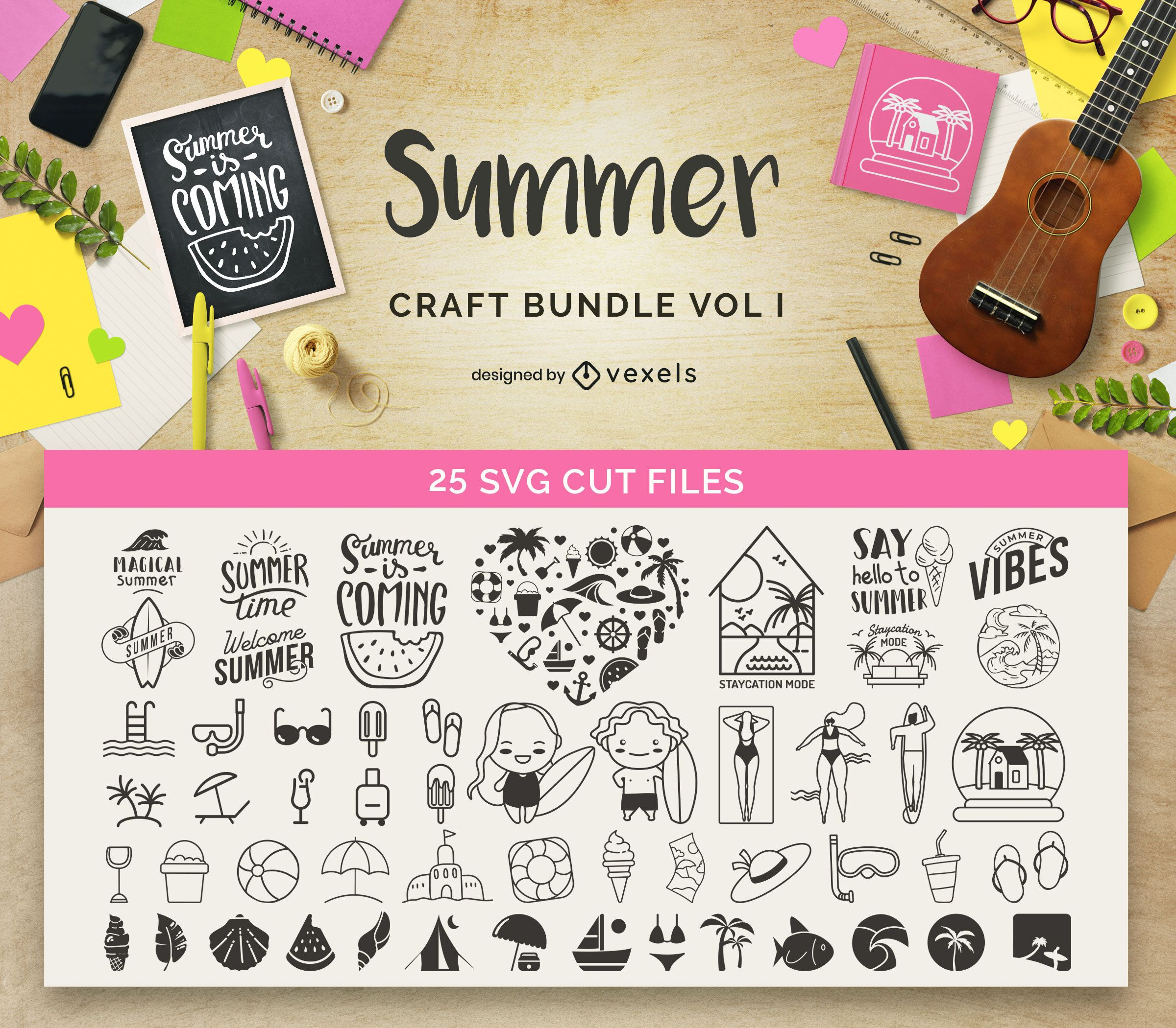 Summer Craft Bundle Vol1