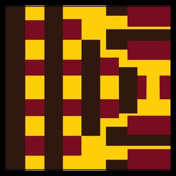 Composição de faixa abstrata