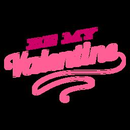 Seja meu projeto de letras do dia dos namorados