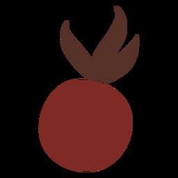 Berry rojo plano