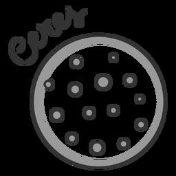 Ceres einfaches Sonnensystem Zwergplanet