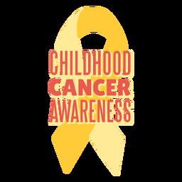 Cita de apoyo para el cáncer infantil