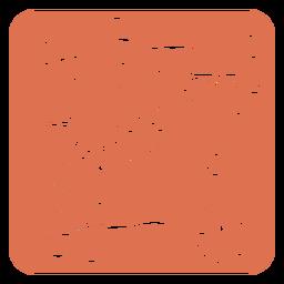 Design floral de montanha-russa quadrada para a hora do café
