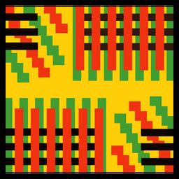 Composição de faixa colorida