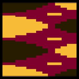 Composición colorida del paño del kente del diamante