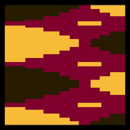Colorful diamond kente cloth composition