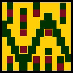 Composição de padrão de pano colorido kente