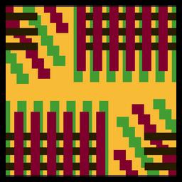 Composição de listras coloridas