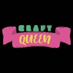 Rainha de letras de ofício rainha