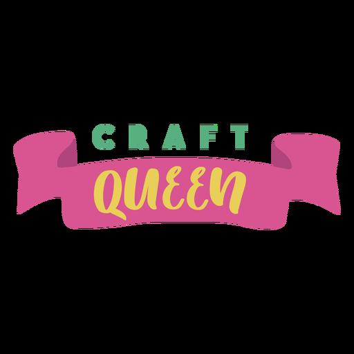 Craft queen lettering phrase