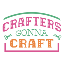 Los artesanos van a elaborar frases de letras