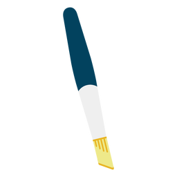 Cutting knife flat icon