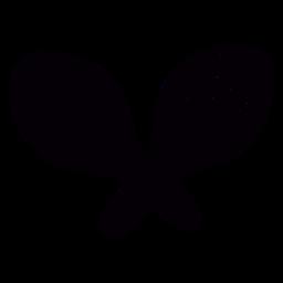 Verzierte Maracas handgezeichnete Symbolschablone