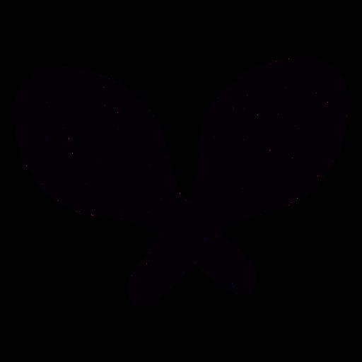 Plantilla de símbolo dibujado a mano de maracas decoradas