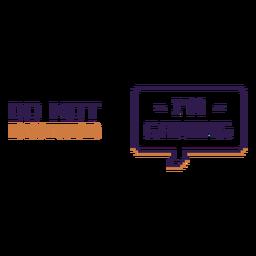 Não distrubir citações de jogos