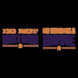 No molestar cita de la película