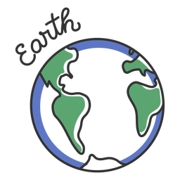 Erde einfacher Sonnensystem Planet
