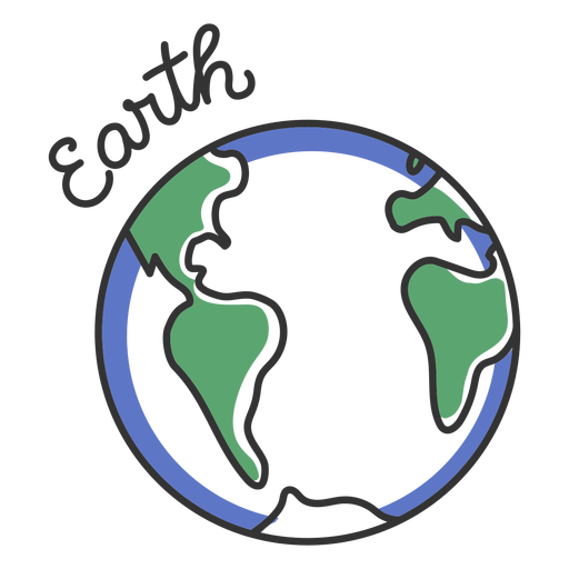 Earth simple solar system planet
