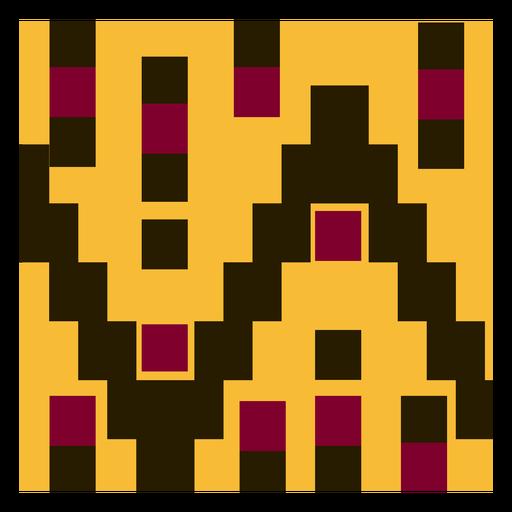 Geometric clothing kente composition