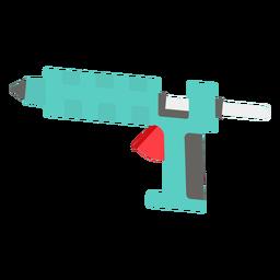 Klebepistole flaches Symbol