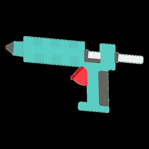 Glue gun flat icon