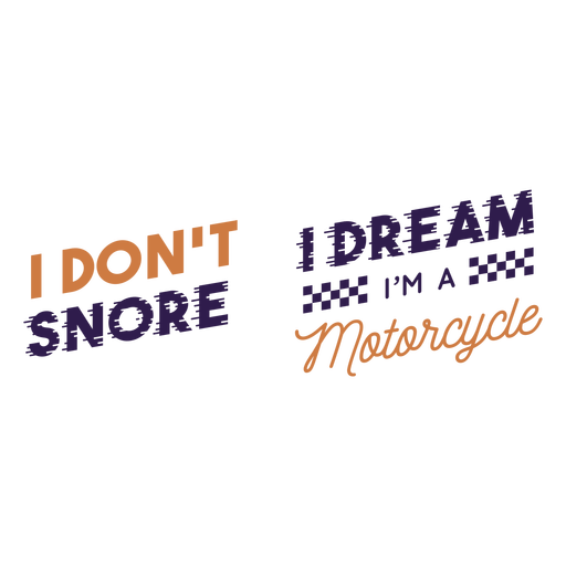 I dont snore quote