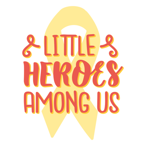 Little heroes among us cancer support quote