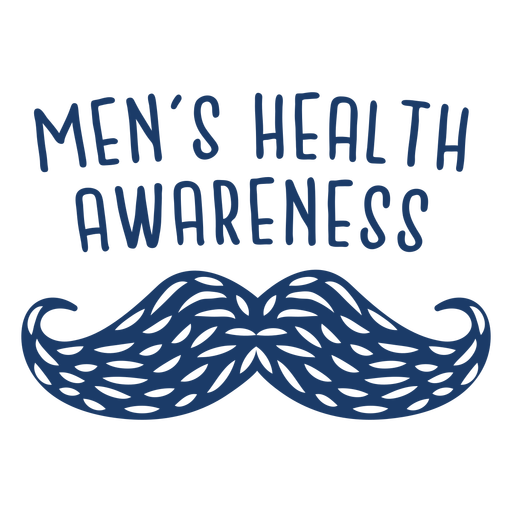 Men health stippled moustache quote blue