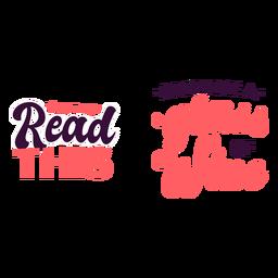 Lea esta cita de traer vino