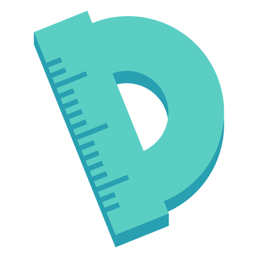 Round ruler flat icon Transparent PNG