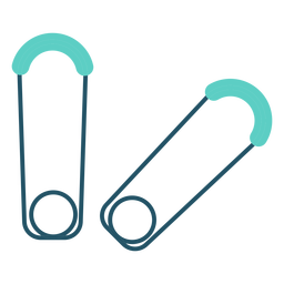 Safety Pin Grey Flat Icon Transparent Png Svg Vector File