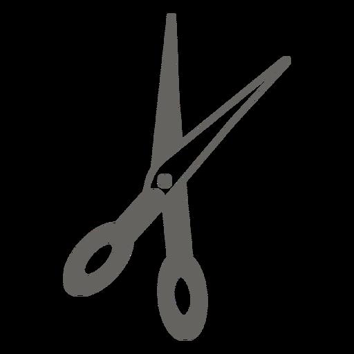 Icono de tijeras gris