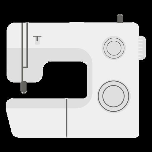 Sewing machine grey flat icon